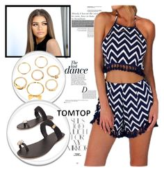 """""""Tomtop+2"""" by fashion-addict35 ❤ liked on Polyvore featuring Rika, Anja, tomtop and tomtopstyle"""
