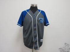 Vtg 90s Dynasty Chicago Cubs SEWN Button Up Baseball Jersey sz L Large MLB #Dynasty #ChicagoCubs  #tcpkickz