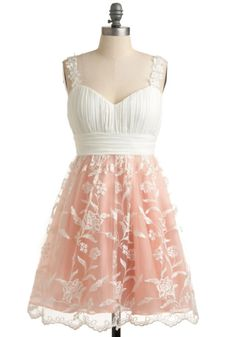 Dress: pattern modcloth lace overlay pink flower straps rouching sweetheart neckline pretty prom