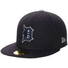 sale retailer 1ba22 a0c31 Detroit Tigers New Era Pop Flip 59FIFTY Fitted Hat - Navy