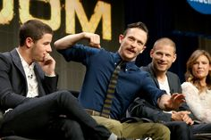 Nick Jonas, Jonathan Tucker, Matt Lauria, and Kiele Sanchez