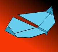 Extreme Best Typhoon Paper Airplane Image