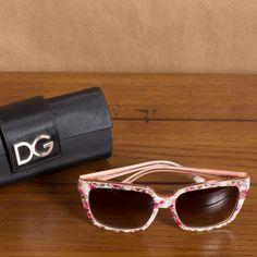 Dolce Gabbana - Óculos Florido www.magarderobestore.com
