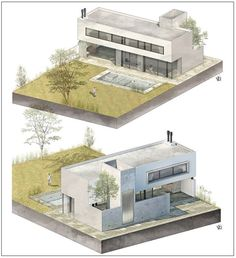 By @fer__neyra • • • #sketchup #vray #ps #render #house #architecture #model