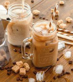 Bubble Tea, Vegan Sweets, Atkins, Iced Coffee, Stevia, Healthy Snacks, Smoothies, Peanut Butter, Mason Jars