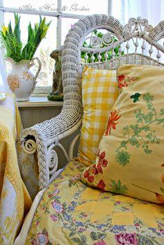 Aiken House & Gardens: Sunny Yellow for Easter