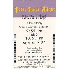 Peter Pan's Flight Photos Fastpass ❤ liked on Polyvore featuring disney and filler