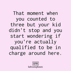 (notitle) - so funny - - Beste Nanny Ideen - Humor Humour Parent, Mommy Humor, Mommy Memes, Parenting Teenagers, Parenting Memes, Funny Mom Quotes, Life Quotes, Mommy Quotes, Baby Quotes
