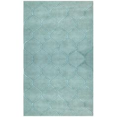 Found it at Wayfair - Transitions Harmony Frost Blue Area Rug