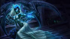 Ghost Bride Morgana Character League Of Legends
