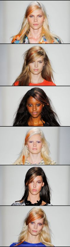 Bright Highlights all you need are a couple pieces and voila! Fun to escape the winter dullness...