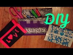 I love this tutorial because you can change it however you want to fit your own personal style. HowToByJordan's channel is all about DIYs. Duct Tape Backpack, Duck Tape Crafts, Pencil Pouch, Washi Tape, Back To School, Personal Style, Crafts For Kids, Projects To Try, Diy Ideas