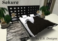 NEW!!! U.S. Designs Sakura Bedroom set 1012 HQ animations Xpose - RLV, xcite! and sensations compatible new BDSM menu