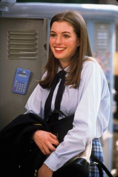 the princess diaries I loved her in this so much. If they ever make another one I want to be Mia like in high school (young years). I relate so much to her character.
