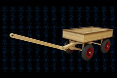 Wagon Wooden Toy - SOLIDWORKS,SOLIDWORKS,AutoCAD,Parasolid - 3D CAD model - GrabCAD