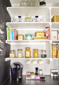 tea brewing area 27Reader Space: A Prudent Pantry