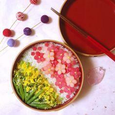 The Kimono Gallery Birthday Menu, Chicken Menu, Japanese Food Art, Food Therapy, Pink Foods, Food Decoration, Aesthetic Food, Healthy Meal Prep, Bento Box