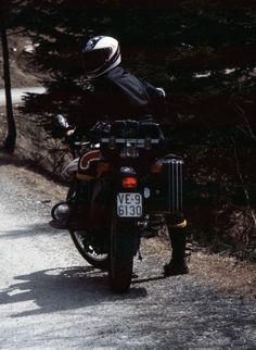 1981 Piero su R80 GS