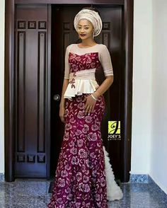 Fashionable, Stylish, and Exquisite Ankara Styles! Checkout How Fashionistas Are Rocking Their Amazing Pieces - Wedding Digest Naija African Inspired Fashion, Latest African Fashion Dresses, African Dresses For Women, African Print Dresses, African Print Fashion, Africa Fashion, Ankara Fashion, African Prints, African Wedding Attire