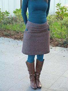 IeneMiene: Een naailes-rokje: de kuise versie ...