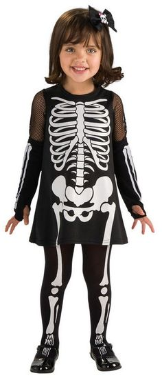 KIDS GIRLS NEON SKELETON BONE PRINTED HALLOWEEN TIGHTS SKULL FANCY DRESS COSTUME