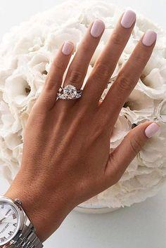 24 Top Round Engagement Rings See more: www.weddingforwar... #wedding