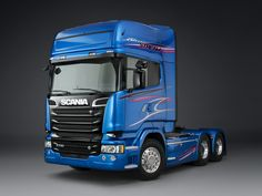 "Scania R730 6×2 ""Blue Stream"" '2014"