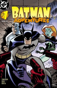 Batman Adventures (2003-2004) #1 cover by Bruce Timm.