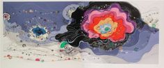Chiaki Shuji - Judy A Saslow Gallery  I love the use of color and line