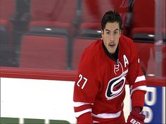 #27 Justin Faulk on 11.05.13 #Movember #Canes