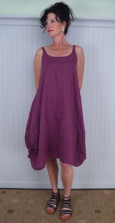 Tina Givens Simplicity Dress Layered Over Madeline Dress with Gidigio Tootsie Sandal