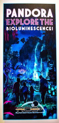 Disney's Animal Kingdom | a llok at the concept art for Pandora
