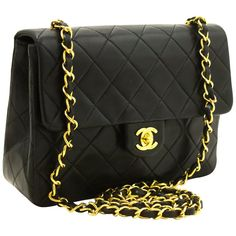 b82ea3fb67d5 Chanel Boutique Structured Shoulder Bag - Chanel Mini Square Small Chain  Shoulder Crossbody Bag