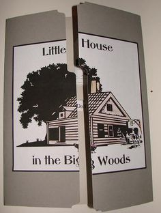 Free Little House in the Big Woods Lapbook; matches Sonlight K Core