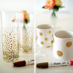 28 Awesome DIY Sharpie Crafts That Even the Kiddos can Pull Off!