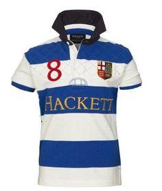 polos ralph lauren! Hackett Bonne qualité populaires Homme Polos Avec  Stripes 33d53254f744
