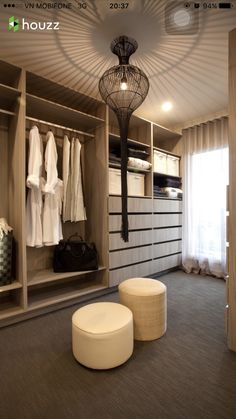 Lorne 302 Display Home - modern - walk-in Closet - Melbourne - Hotondo Homes Small Bedroom Wardrobe, Wardrobe Storage, Walk In Wardrobe, Closet Bedroom, Clothes Storage, Small Bedrooms, Storage Closets, Storage Room, Master Bedroom
