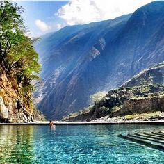Aguas Calientes, Peru.  RESPONSible Travel Peru: http://www.responsibletravelperu.com/  #RESPONSibleTravelPeru #AguasCalientes #MachuPicchu