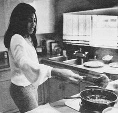 Tina Turner Cooking - Look Magazine, September 1970