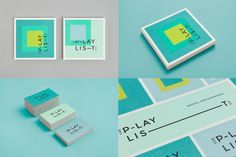Like the colors of this, but not the geometric masculine design.  The Playlist Company by Blok Design
