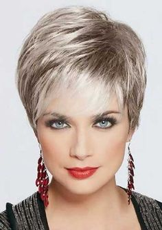 Gorgeous Short Pixie for Older Women 2015
