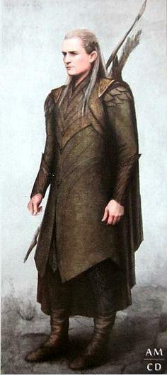 Legolas concept art