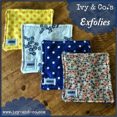 Ivy & Co.: NEW PRODUCT REVEAL: Exfolies A revolution has begun in wash cloths