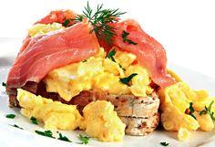 15 of the best scrambled egg recipes Diabetic Recipes, Cooking Recipes, Diet Recipes, Flat Belly Diet, Flat Tummy, Egg Recipes For Breakfast, Breakfast Ideas