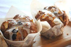 Apple Raisin Cobblestone Muffins- More like a cinnamon roll muffin. A copycat of Panera Apple, Cinnamon, Raisin muffins. Raisin Muffins, Cinnamon Muffins, Apple Cinnamon, Raisin Bread, Apple Muffins, Corn Muffins, Baking Muffins, Cupcakes, Cupcake Cakes