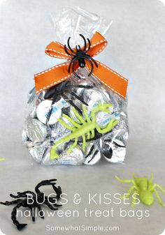 Bugs and kisses bags...so cute!
