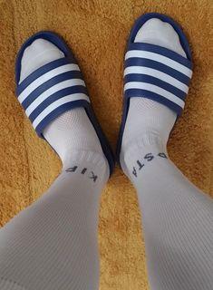 Slide Sandals, Socks, Sneakers, Men, Popular, Beautiful, Fashion, Soccer, Tap Dance