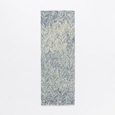 Vines Wool Rug - Blue Lagoon #westelm