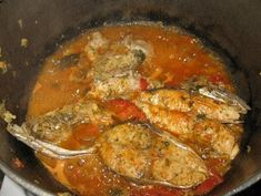 Stew fish is a popular way of cooking fish here in Trinidad and Tobago. Unlike the Jamaican Brown Stew fish, ours tend to be more on the red side because of the tomatoes and tomato paste etc. Seeing t(Jamaican Chicken Stew) Fish Recipes, Seafood Recipes, Indian Food Recipes, Great Recipes, Ethnic Recipes, Recipies, Chicken Recipes, Jamaican Dishes, Jamaican Recipes