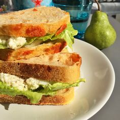 The nicest egg salad sandwich | Daisies & Pie